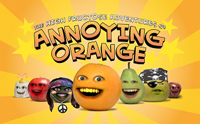 <i>Fruit Vengers Television Episode</i> Title Card