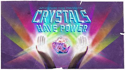 <i>Crystals Have Power Television Episode</i> Title Card