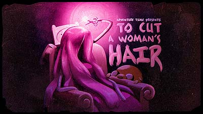 <i>To Cut A Woman's Hair Television Episode</i> Title Card