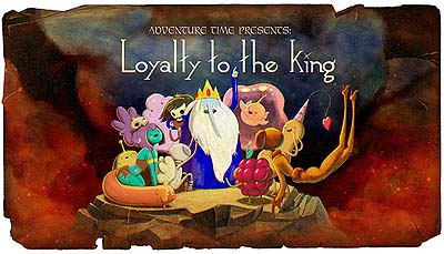 <i>Loyalty To The King Television Episode</i> Title Card