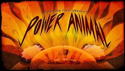 <i>Power Animal Television Episode</i> Title Card