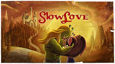 <i>Slow Love Television Episode</i> Title Card