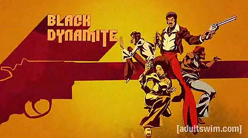 'Black Dynamite Television' Series Title Card