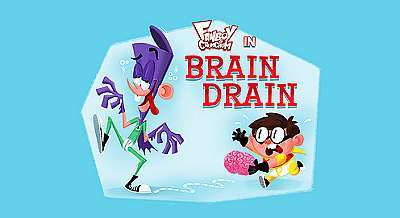 Brain Drain Television Episode Title Card