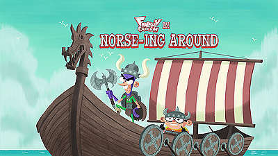 Norse-ing Around Television Episode Title Card