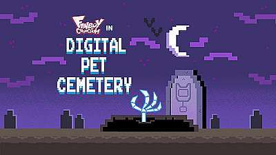 Digital Pet Cemetery Television Episode Title Card