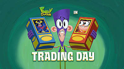 'Trading Day Television Episode' Title Card