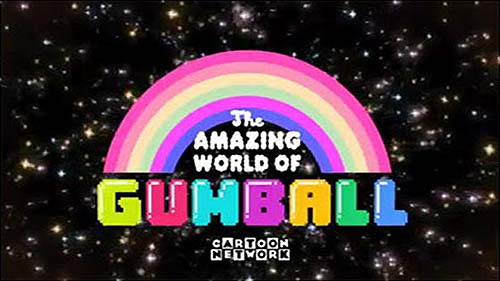 'The Amazing World Of Gumball  Television' Series Title Card