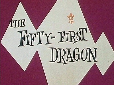 The Fifty-First Dragon Title Card