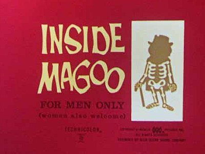 'Inside Magoo' Title Card