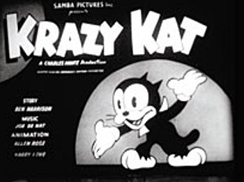 <i>Krazy Kat</i> Series Title Card