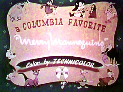 <i>Merry Mannequins</i> Title Card