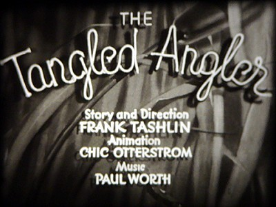 'The Tangled Angler' Title Card