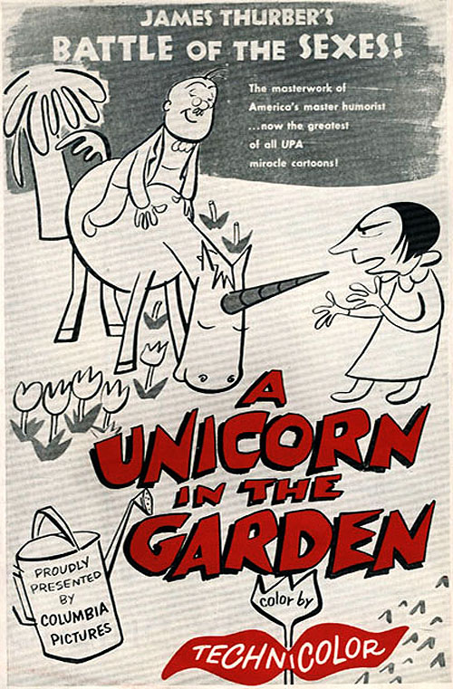 'The Unicorn In The Garden' Original Release Poster
