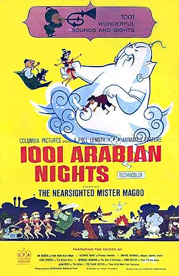 1001 Arabian Nights Original Poster