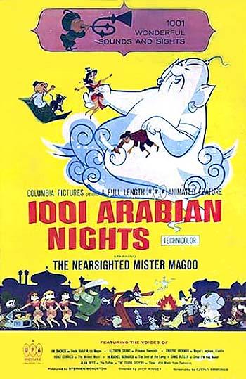 1001 Arabian Nights Original Poster