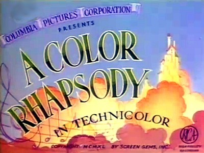 'A Color Rhapsody' Series Title Card
