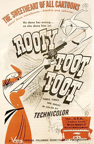 'Rooty Toot Toot' Poster