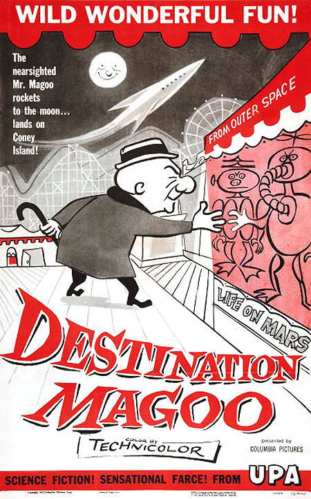 'Destination Magoo' Poster