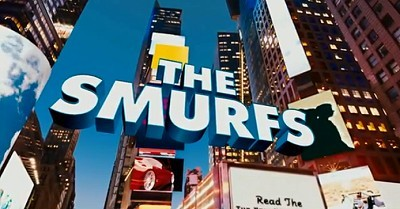 <i>The Smurfs</i> Title Card