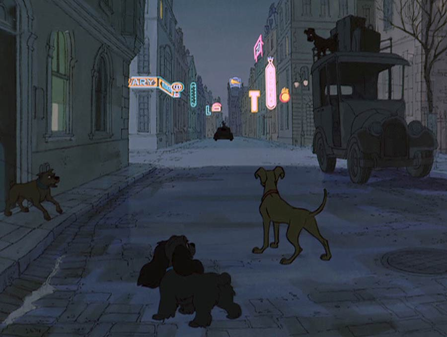 Lady & Tramp (from Lady and the Tramp) Cameo