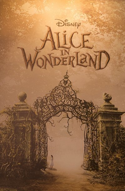 Alice In Wonderland Release Poster
