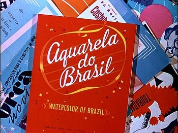 'Aquarela do Brasil' Title Card