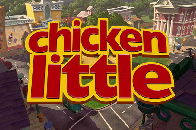 <i>Chicken Little</i> Title Card