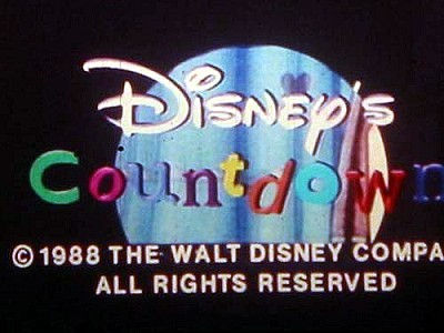 'Disney's Countdown' Title Card