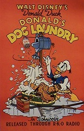 Donald's Dog Laundry Original Release Poster