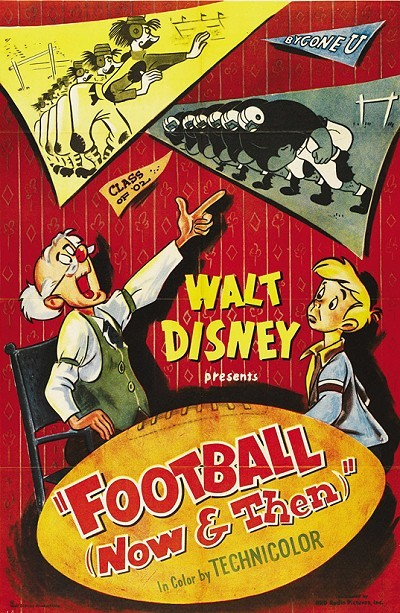 'Football Now And Then' Original Release Poster