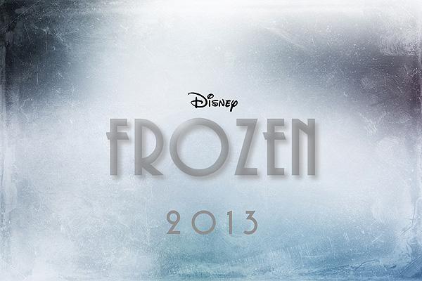 <i>Frozen</i> Title Card