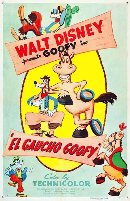 El Gaucho Goofy Poster