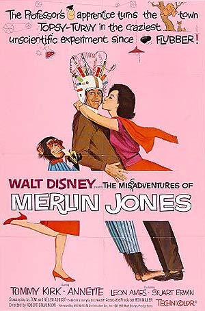 The Misadventures of Merlin Jones Poster