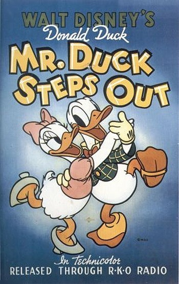 Mr. Duck Steps Out Original Release Poster