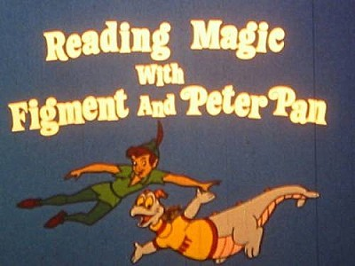 Reading Magic With Figment And Peter Pan Title Card