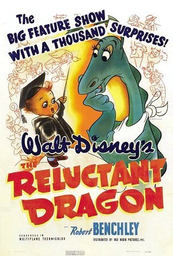 The Reluctant Dragon Original Release Poster