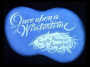'Once Upon A Wintertime' Title Card