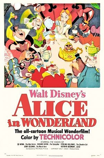 Alice In Wonderland Original Release Poster