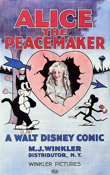 'Alice The Peacemaker' Original Release Poster