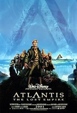 Atlantis: The Lost Empire Advance Poster