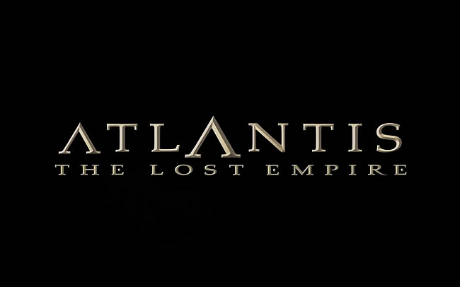 <i>Atlantis: The Lost Empire</i> Title Card