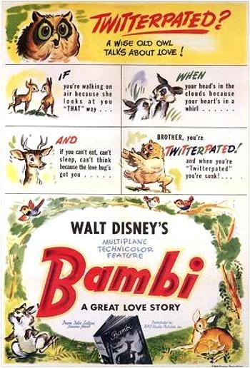 Bambi Original Release Poster