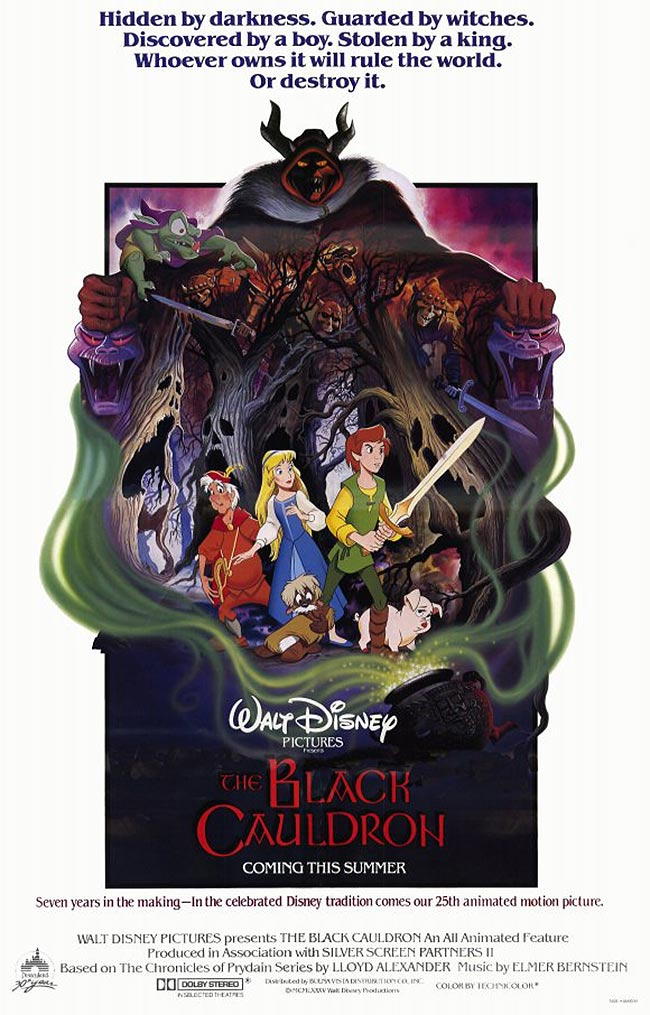 The Black Cauldron Original Release Poster