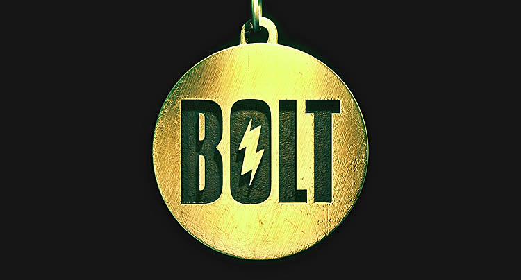 <i>Bolt</i> Title Card