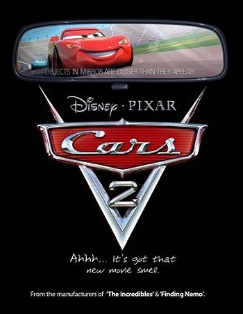 Cars 2 Pre-Release Poster
