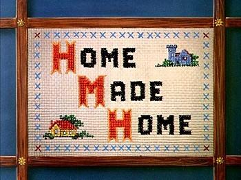 <i>Home Made Home</i> Title Card