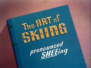 <i>The Art Of Skiing</i> Title Card
