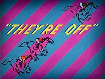 <i>They're Off</i> Title Card
