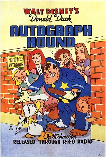 The Autograph Hound Original Release Poster